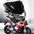 Universal Motorcycle Motocross Headlight Fairing Light Dual Streetfighter Lamp