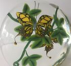 Rare Swallow Tail Butterfly Plaque Paperweight Steven Lundberg