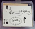 NEW Stampin Up Lots of Thoughts Rubber Stamp Set 5 total stamps