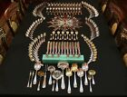 RARE Tiffany New York Colonial 207 Piece Sterling Complete Flatware Set For 12