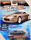 HOT WHEELS SPEED MACHINES FORD SHELBY GT 1 CONCEPT GREY W+