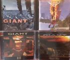 Giant- Last Of The Runaways, Time To Burn, III, Promise Land (4 CD Lot) Europe
