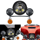 LED Headlight Turn Signal Passing Light For Yamaha Road Star Midnight Warrior XV