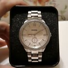 Fossil ES3062 Sydney White Dial Stainless Steel Women's Watch