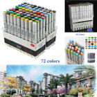24 36 72 Colors Dual Headed Artist Sketch Copic Markers Pen Set For Animation