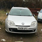 LARGER PHOTOS: 2008 RENAULT LAGUNA ESTATE DYNAMIQUE AUTO 2.0 DIESEL SILVER spares or repairs