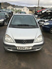 LARGER PHOTOS: 2004 MERCEDES A140 CLASSIC 1.4 PETROL SILVER spares or repairs