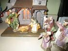 Lighted Creche Stable  Fontanini Nativity Set Figurines