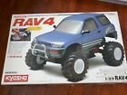 Vintage 1/10 Kyosho Toyota RAV4 with 10 size engine.