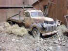 REVELL194141CHEVROLET CHEVY JUNKYARD DIORAMA 1/24 1/25 WEATHERED FLAT BED