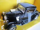 1932 Black Ford Coupe 1:24 Diecast Car Motorworks