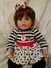 ADORA DOLL Licorice Striped Red Hair with Brown Eyes 20 Baby Doll