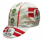 Brand new Alfa Lume Colnago Cycling cap Italian made Retro C40 C50 C60