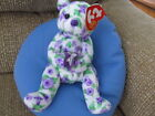 TY Beanie Babies CORSAGE Bear MWMT Retired 2003 Mother's Day