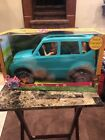 New Barbie Camping Fun Doll and Vehicle