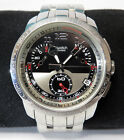 Swatch FOOL FLY / YRS406G Retrograde Chronograph Irony Stainless Steel