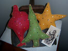 ~PaTTeRn~PRiMiTiVe WiNTeR SuGaR CooKiE BoWL FiLLeRs ORniE CuPBoArd TuCkS~