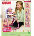 RARE Fisher Price Little Mommy 4-in-1 swingn high chair