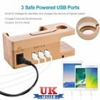 Bamboo Charging Dock Station /Charger Holder Stand for Apple Watch /iPhone iPaMY