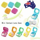 Plastic Mini Contact Lens Case Outdoor Travel Contact Lens Holder Container AMY