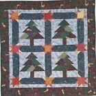 YULETIDE FOREST Piecing Quilt Pattern Removed from a Magazine Quilting