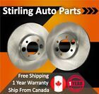 2002 For Ford E 150 Econoline Club Wagon Front Brake Rotors w 2 Wheel ABS