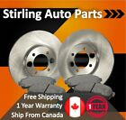 2002 For Ford E 150 Econoline Club Wagon Front Rotors and Pads w 2 Wheel ABS
