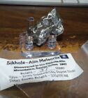 37 gm SIKHOTE ALIN IRON METEORITE  TOP GRADE RUSSIA WITH STAND