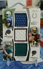 2012 ANDREW LUCK RGIII TANNEHILL Topps Prime Triple RC Jersey Relic Rookie 559