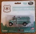 Vtg Boley Die Cast US Forest Service Fire Agency Collection Toy Fire Truck New