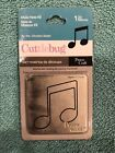 Provo Craft Cuttlebug Die Music Note 2 37 1420 Approx 2 x 2