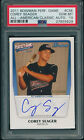 2014 Bowman - 2011 Perfect Game All American Corey Seager Auto 177 235 PSA 10