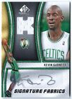 KEVIN GARNETT 09 UD SP GAME USED AUTO AUTOGRAPH JERSEY CARD! (READ)