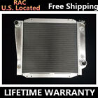 All aluminum radiator fit 1966 1967 ford bronco wagon roadster 50l 302 v8 3 row