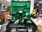 Hitachi 5.0AH 18v Cordless Twin Pack COMBI DRIIL&IMPACT DRIVER & GRINDER