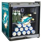 Mini Fridge 1.8 Cubic Feet Miami Football Dolphins Office Dorm Garage Cooler
