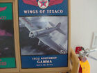 WINGS OF TEXACO DIE CAST AIRPLANE BANK 2nd IN SERIES 1994 1932 NORTHROP GAMMA