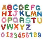 36 Magnetic Letters Numbers Childrens Kids Alphabet Spelling Fridge Magnets New