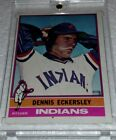 Dennis Eckersley Cards, Rookie Card and Autographed Memorabilia Guide 14