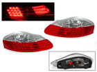 DEPO Red Clear LED Tail Light Lamp Pair For 97 04 Porsche Boxster 986 Roadster