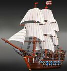 Pirates Imperial Flagship. custom brick set for Lego 10210