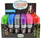 Temporary Hair Color Spray Case 24 Cans 6 Colors Crazy Halloween Crafts Dye