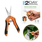 Micro Tip Pruning Shears Trimming Gardening Cutter Blades Snip Shaping Scissors