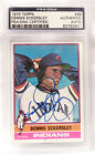 1976 Topps #98 Dennis Eckersley Rookie Autographed Signed PSA DNA RC