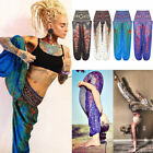 Women Boho Baggy Harem Pants Hippie Wide Leg Gypsy Yoga Long Palazzo Trouser USA