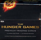 2012 NECA THE HUNGER GAMES Premium Trading Cards Factory Sealed Box 24 Packs