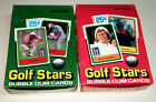 1981 1982 Donruss Golf Stars Wax Box Lot 72 Packs Couples Jack Nicklaus Rookie