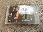 2015 Topps Undisputed Seth Rollins Autograph Shirt Relic SP 02 50 Wrestling Card