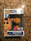 Funko Pop Flocked Geoffrey the Giraffe Toys R Us Ad Icons #12 Exclusive