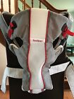 BABY BJORN Gray White Red BABY CARRIER Air Mesh LIGHTWEIGHT Breathable 8-25 lbs.